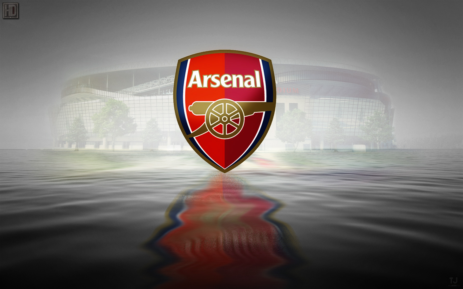 Logo Arsenal Wallpaper Desktop