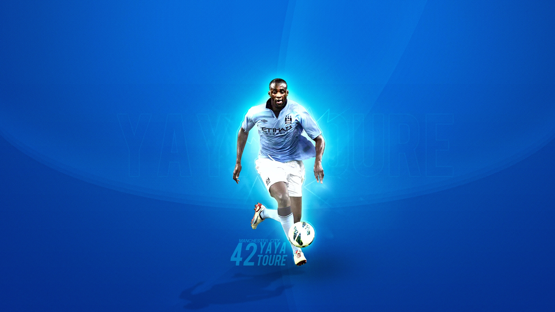 Manchester City Yaya Toure Wallpaper