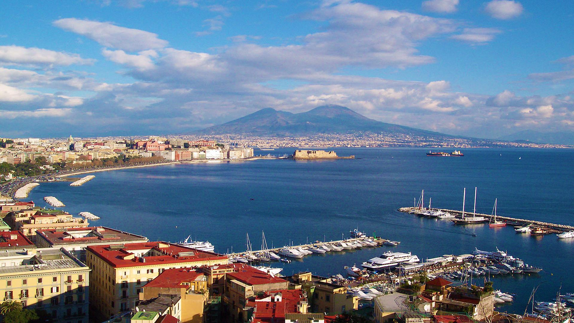 Napoli Italy Wallpaper Landscape Free Downloads