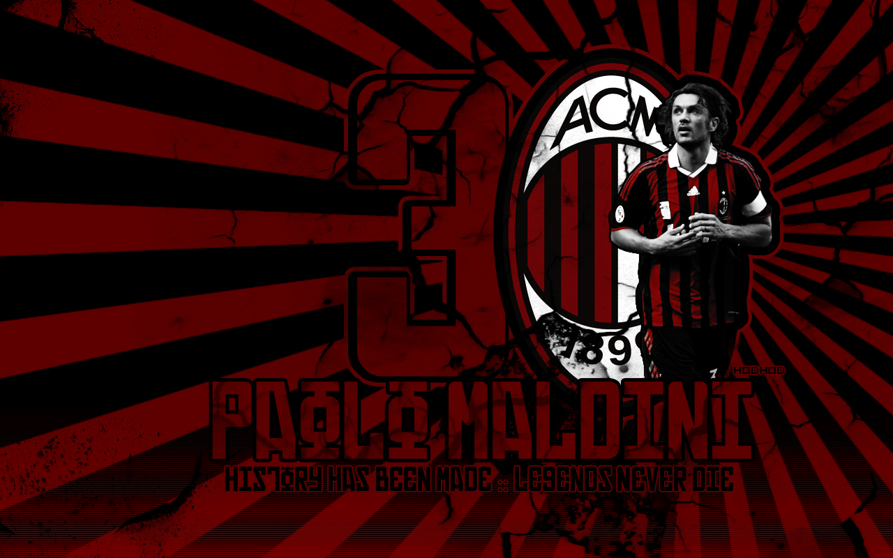 Paulo Maldini Ac Milan Wallpaper Photos