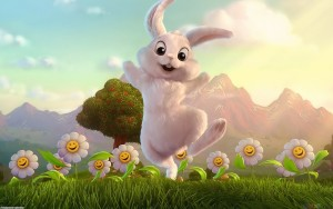 Rabbit Wallpaper Android Cartoons