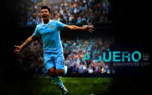 Sergio Aguero Player Manchester City Wallpaper