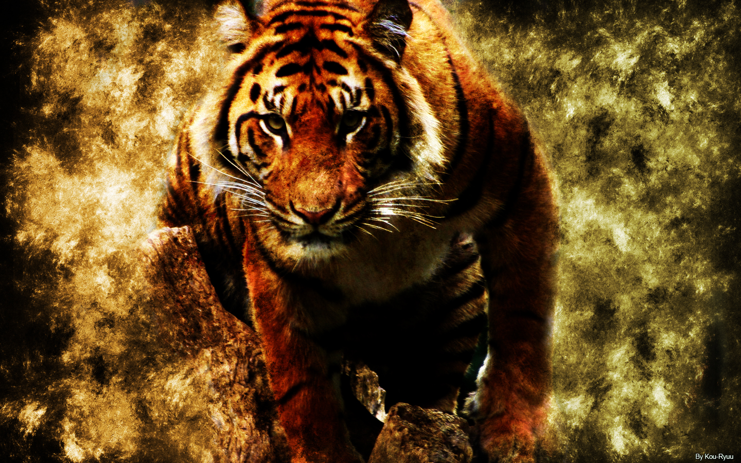 Tiger Wallpaper Laptop Cute