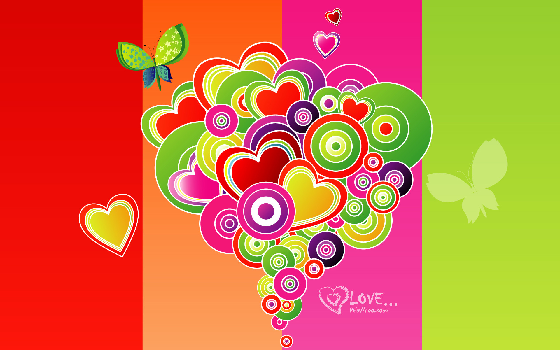 Valentine Days Wallpaper Vector