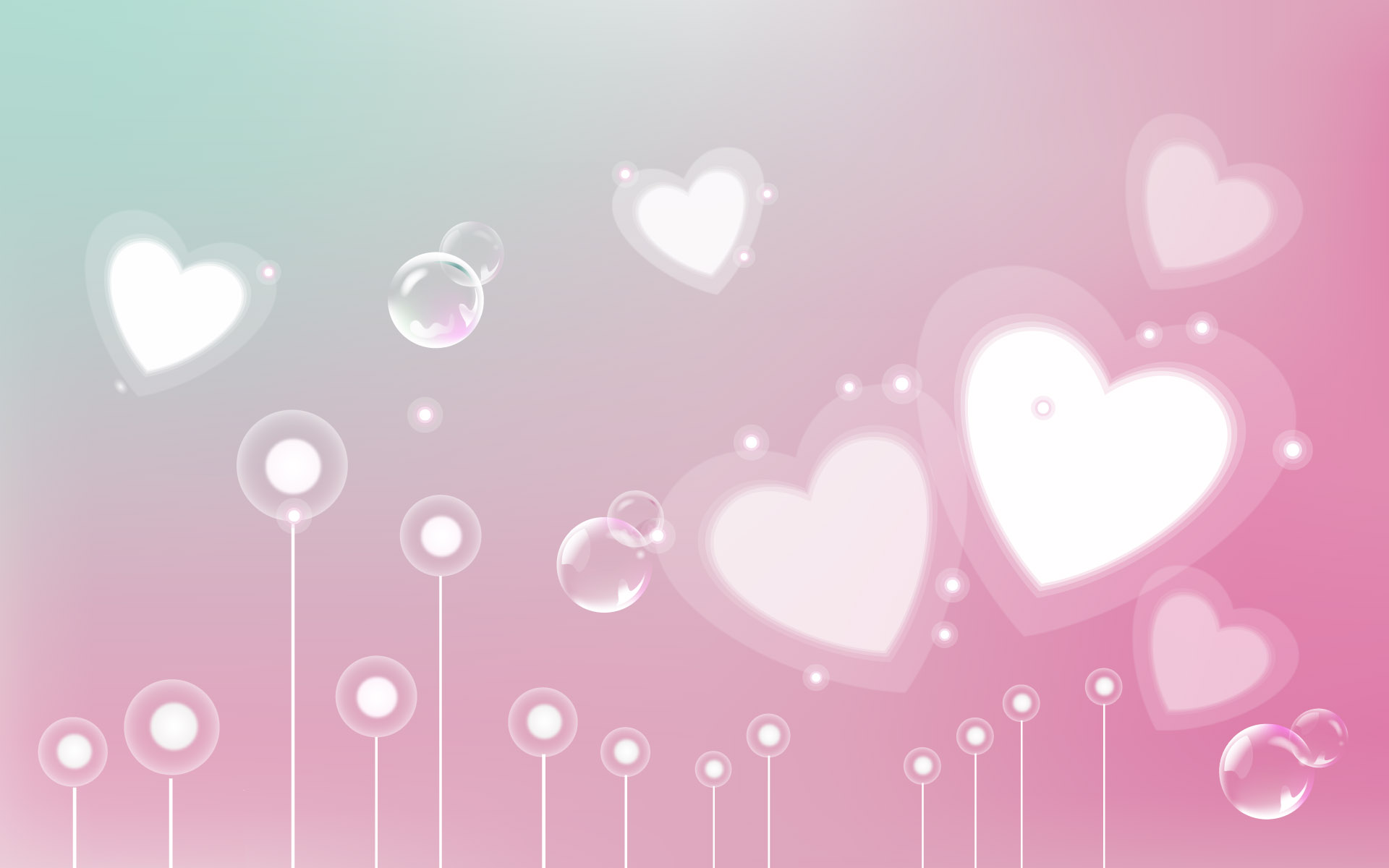 Valentine Wallpaper Pink HD
