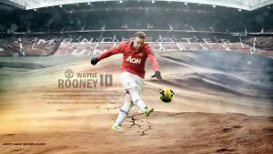 Wayne Rooney Kick Wallpapers