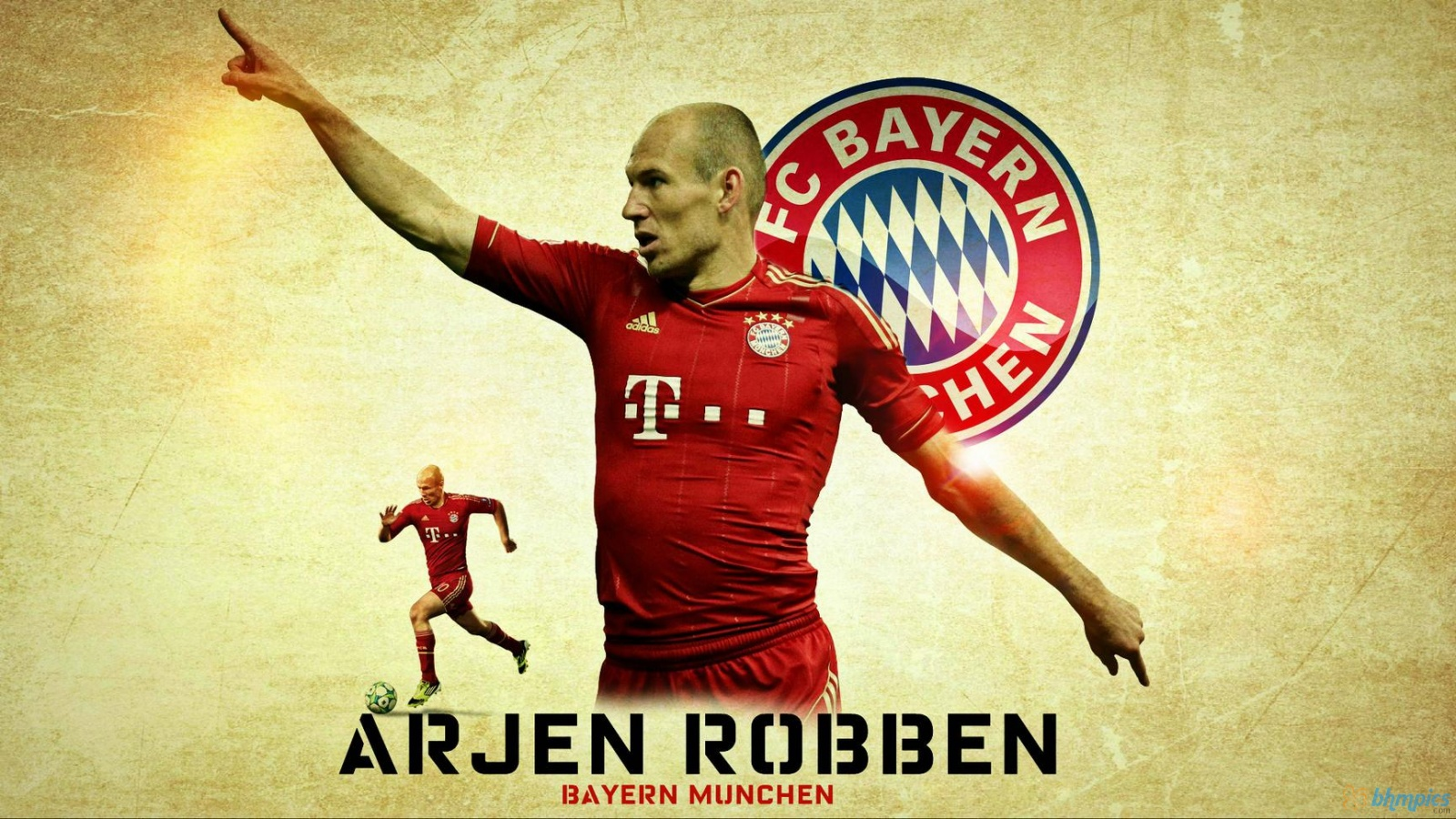 Arjen Robben Wallpaper Free Downloads