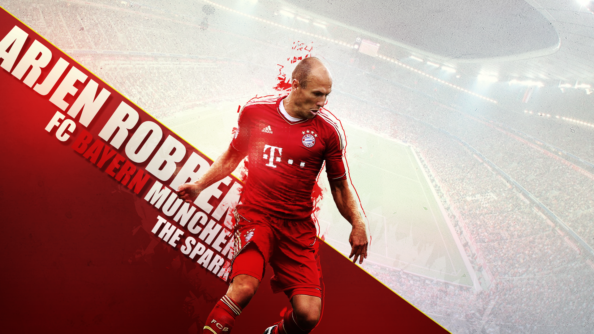 Arjen Robben Wallpaper Widescreen 2015