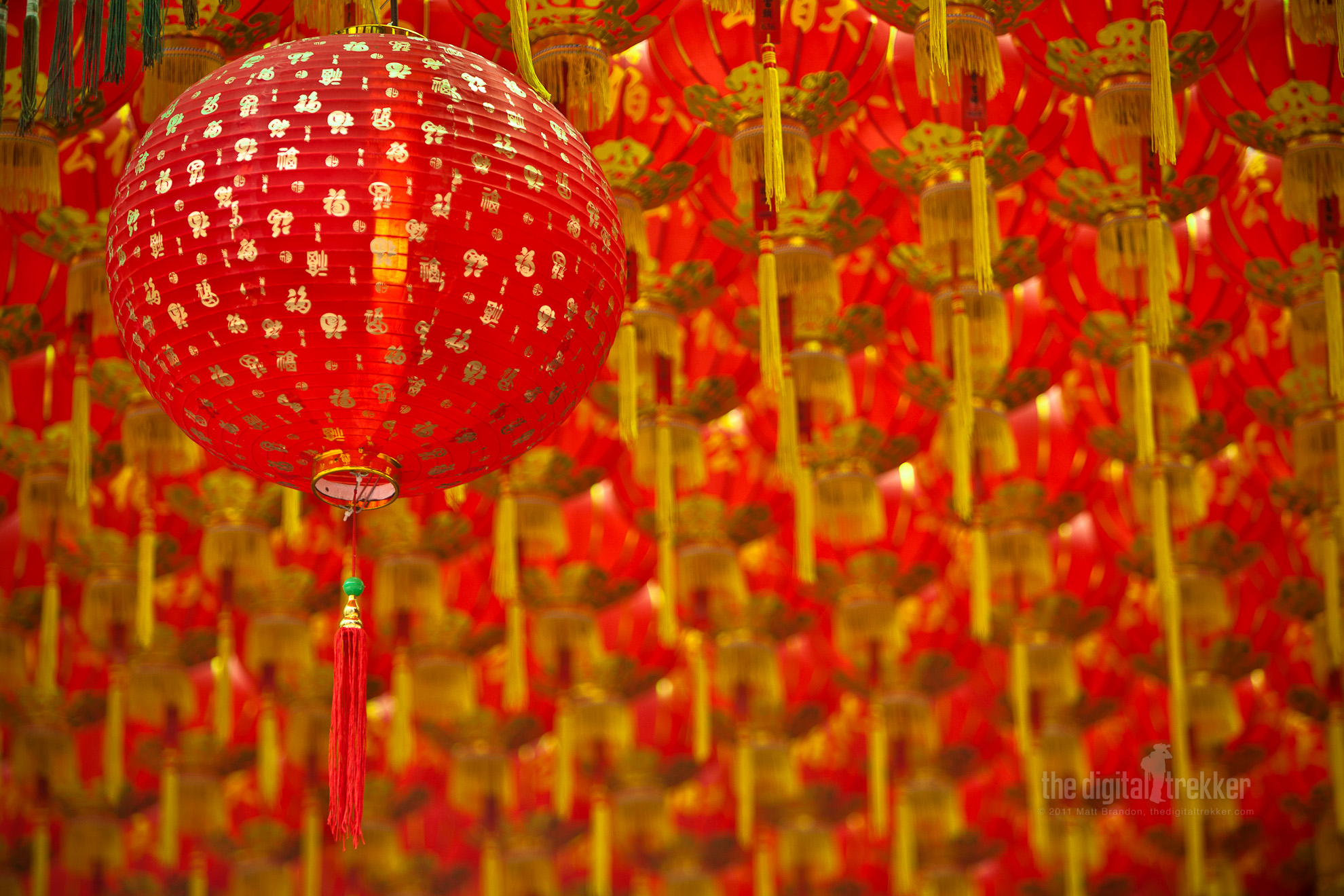 Chinese New Years Decoration Wallpaper Cute
