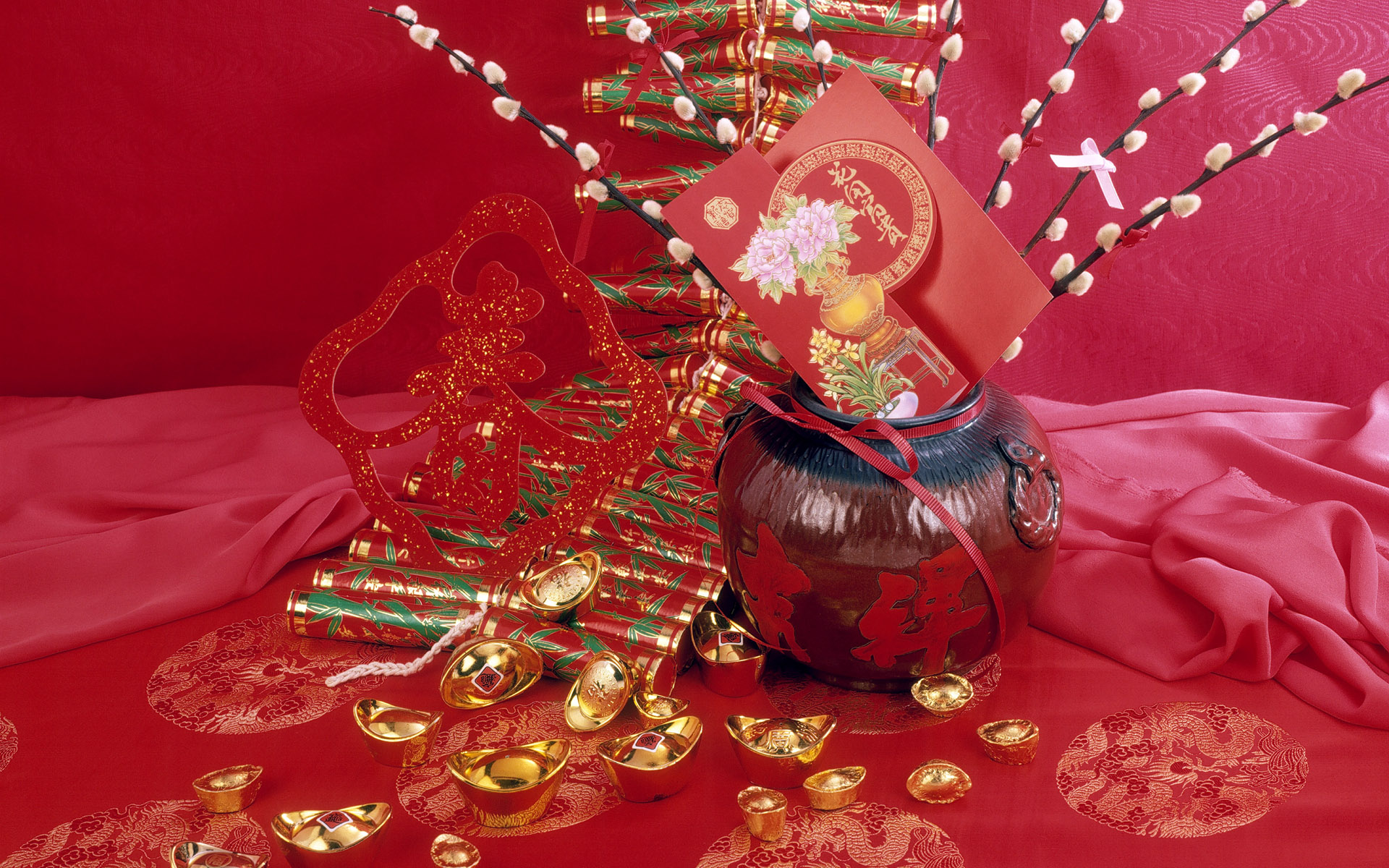 Chinese New Years Wallpaper Computer HD