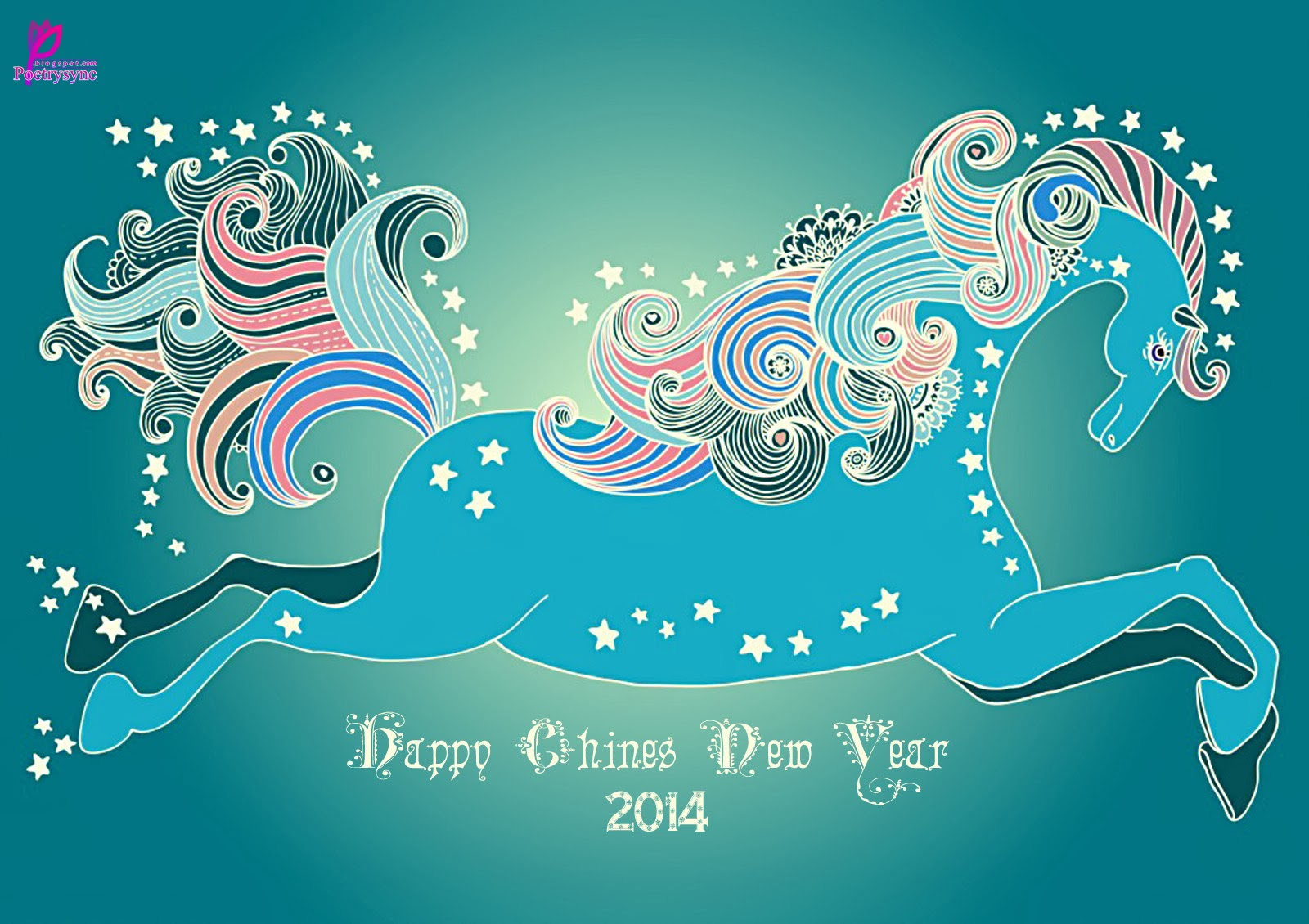 Chinese New Years Wish Lunar Wallpaper