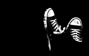 Cool Shoes Wallpaper Black And White