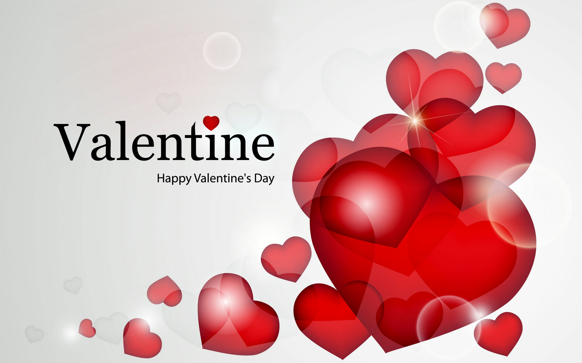 Happy Valentine Design Wallpaper 2015