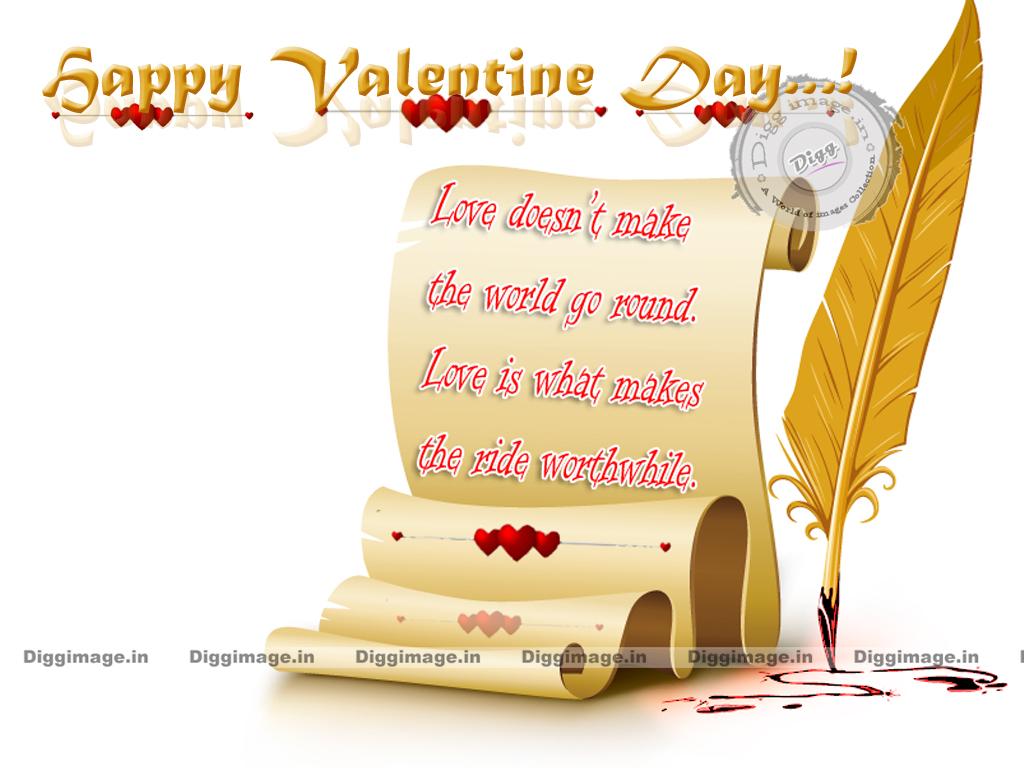 Quotes Happy Valentine Wallpaper PC Computer