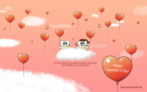 Happy Valentine Wallpaper Quotes HD