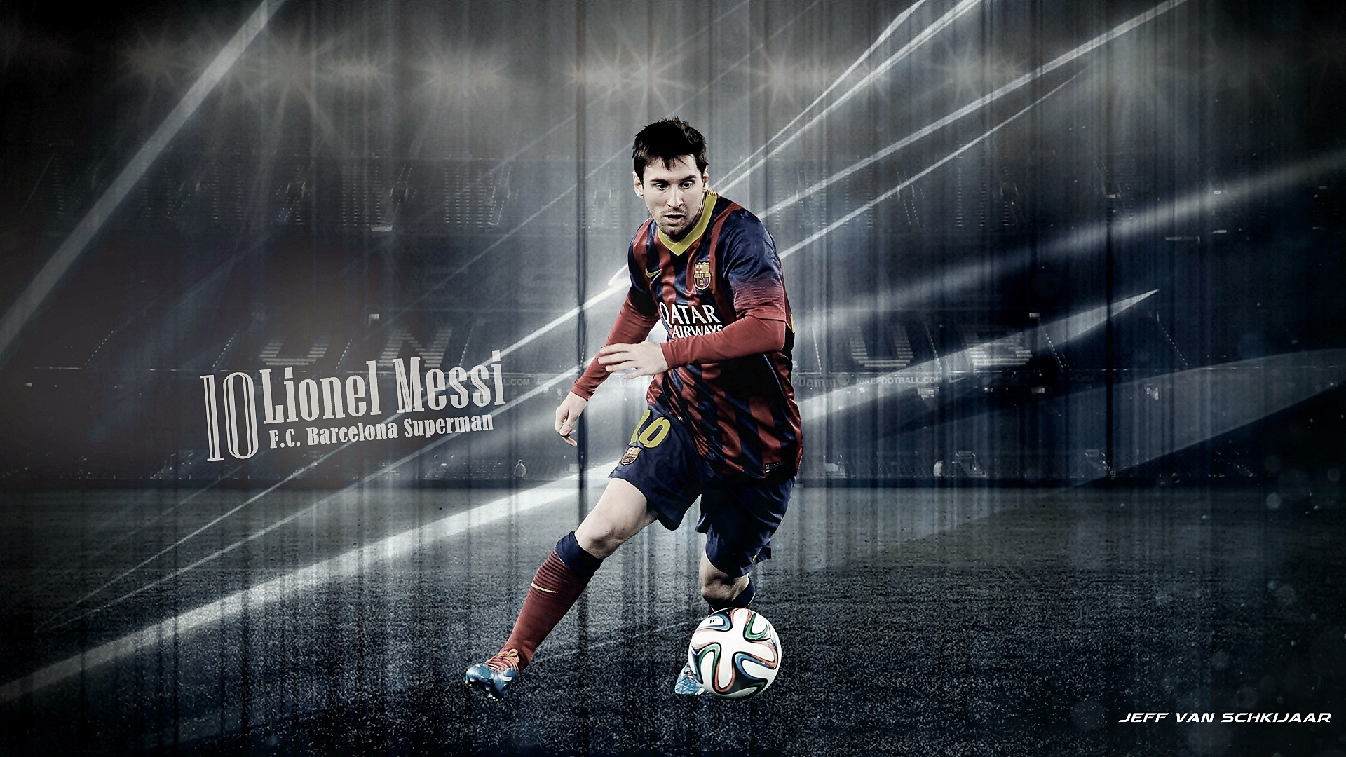 Lionel Messi Barcelona Wallpaper HD Windows