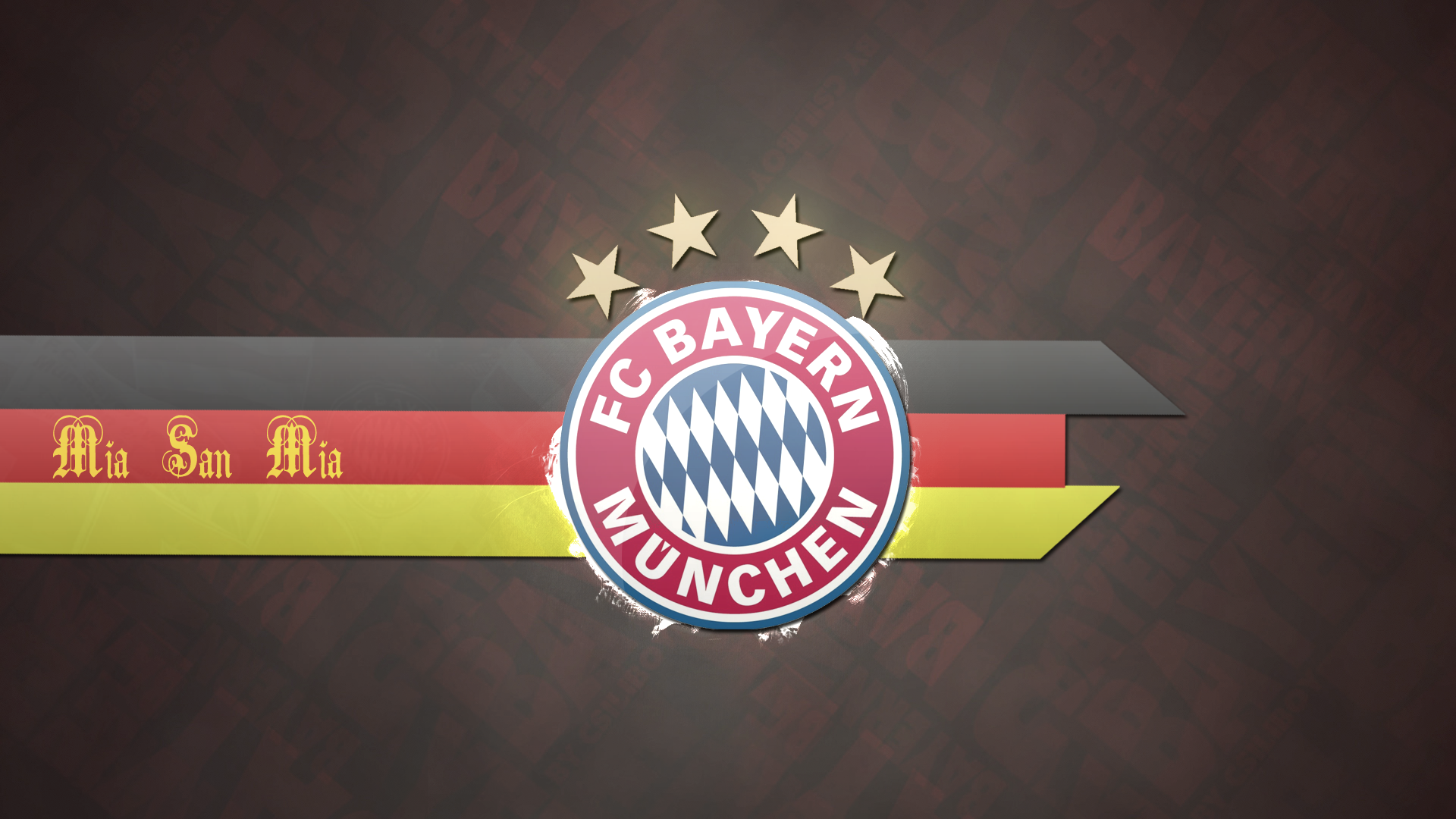 Mia San Mia Logo Bayern Munich Wallpapers