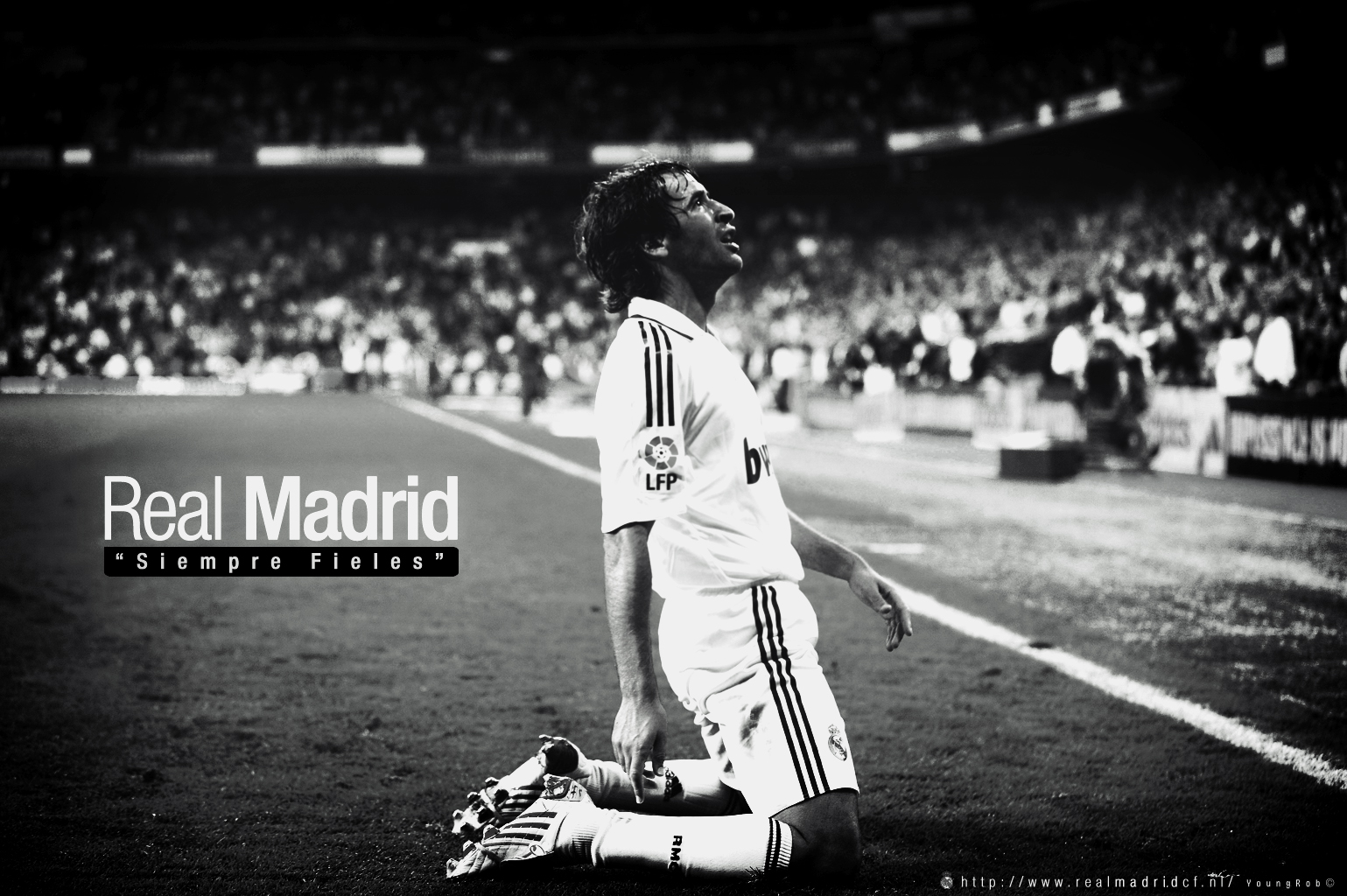 Raul Gonzalez Wallpaper Real Madrid Legend Walldiskpaper