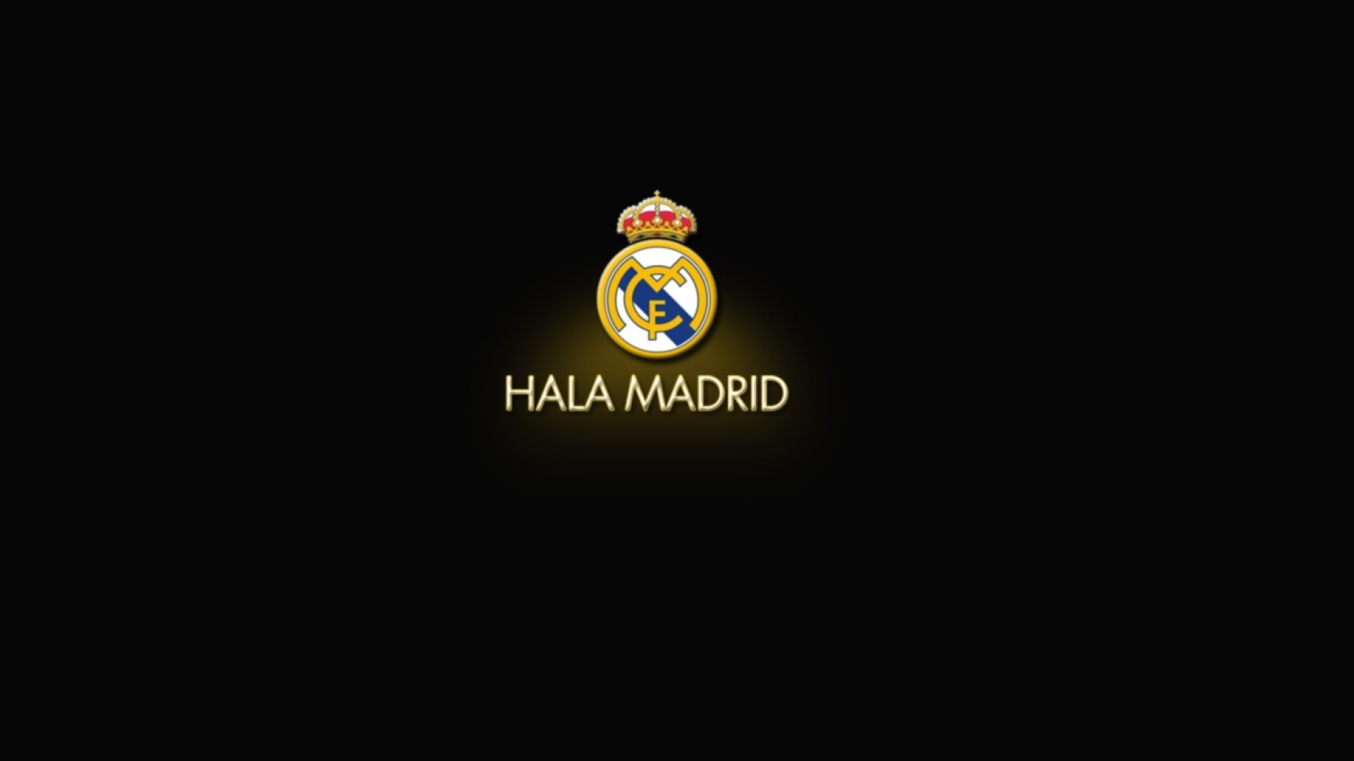 Real Logo Madrid Black Wallpapers