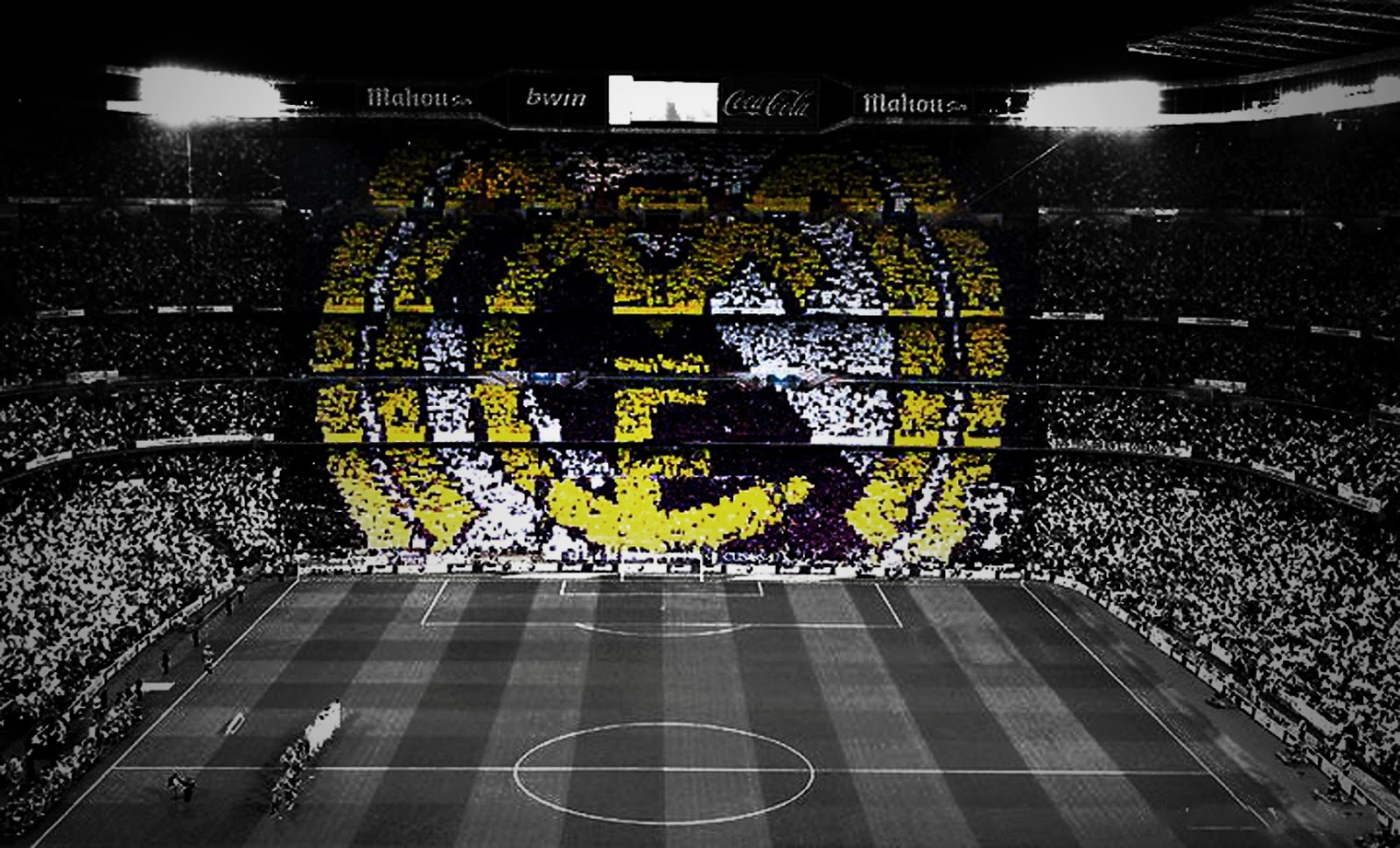 Real Madrid Choreography Wallpaper Supporter