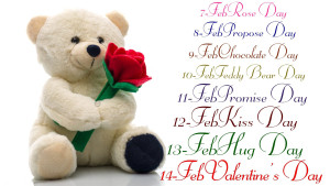 Teddy Love Valentine Days 2015 Wallpaper