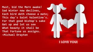 Valentine Days Quotes Wallpaper Background