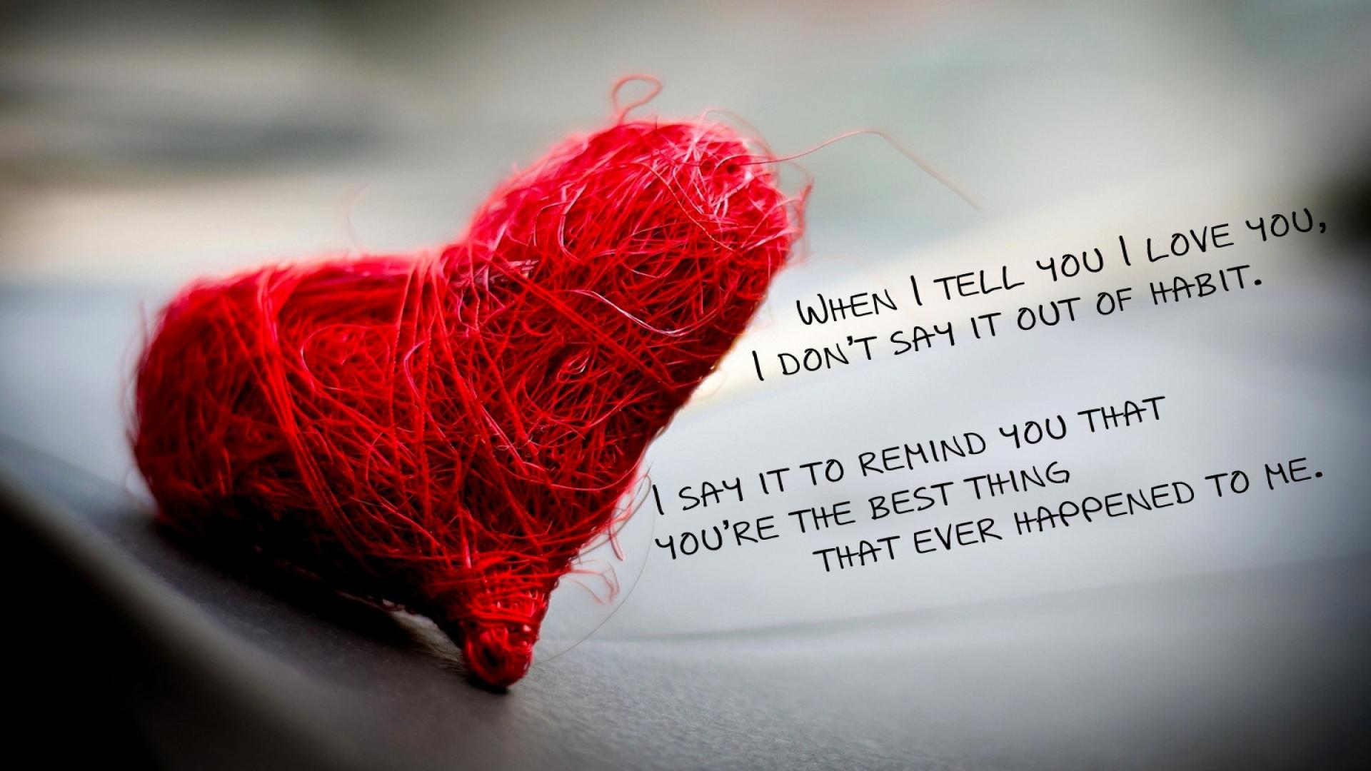 Valentine Days Quotes Wallpaper Widescreen