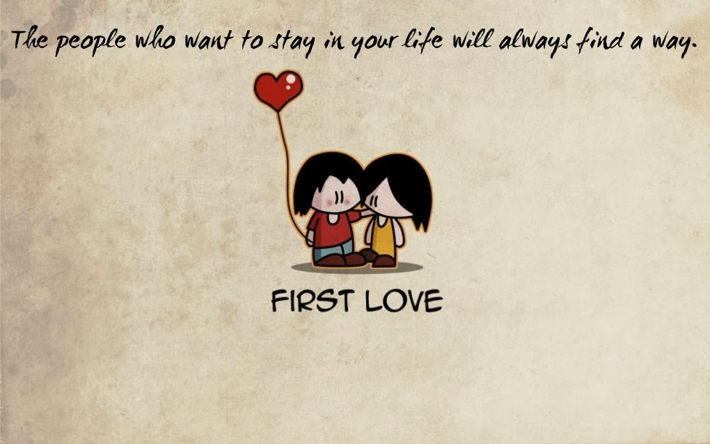 Valentine Days Romantic First Love Wallpaper