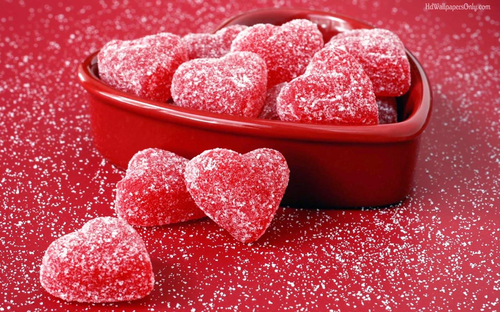 Valentine Days Sweed Heart Wallpaper