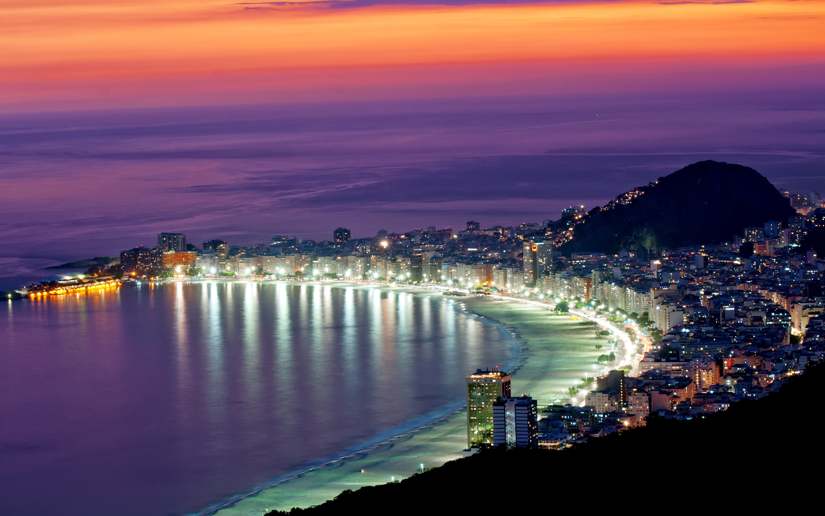 Copacabana Wallpaper Beach Brazil Rio 12990 Wallpaper  WallDiskPaper