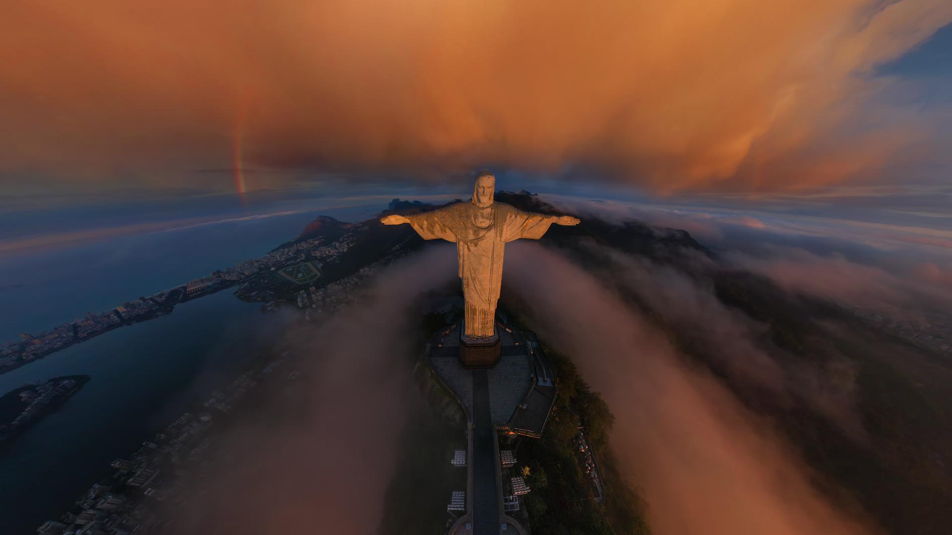 Photography Rio De Janeiro Christ Wallpaper