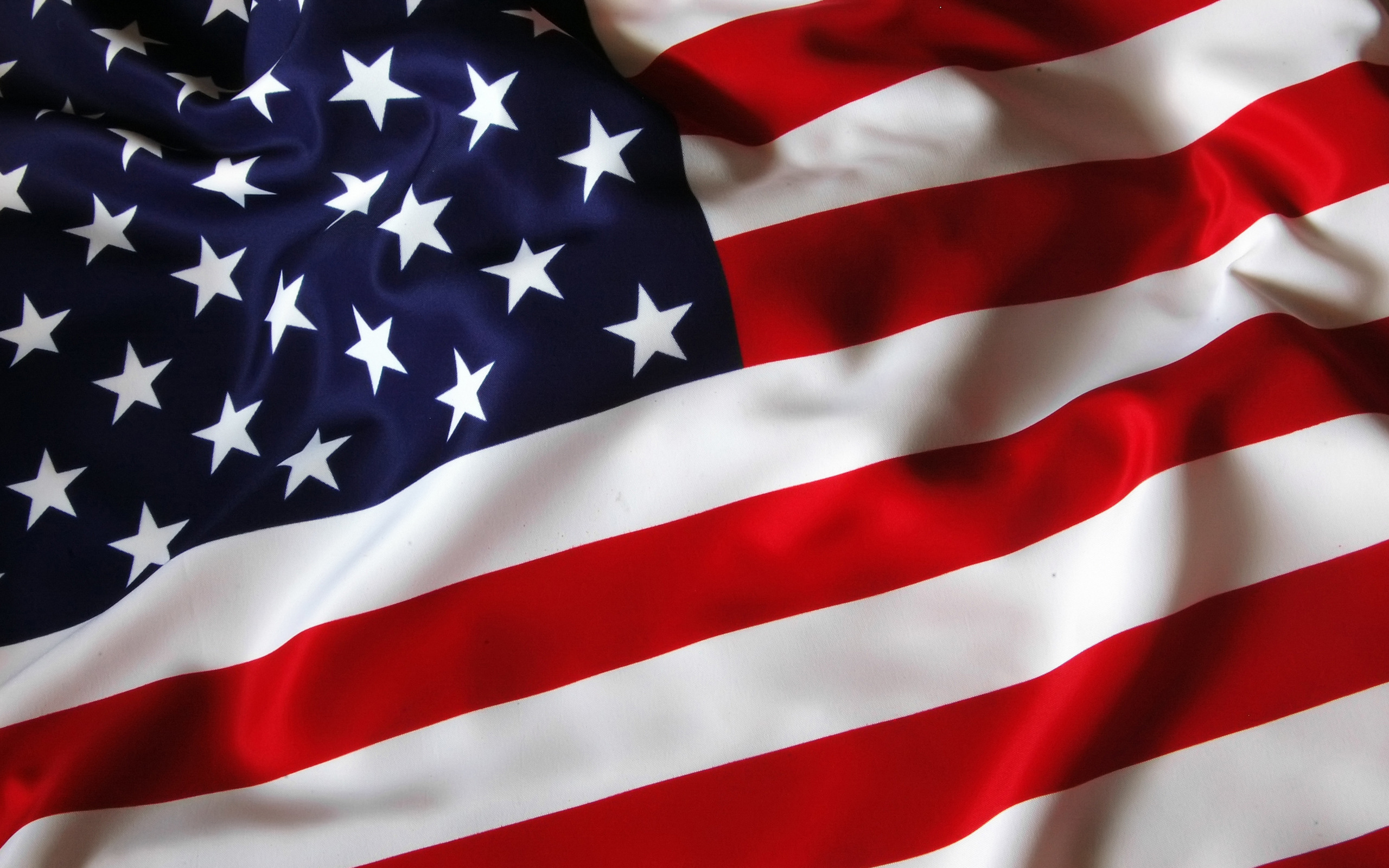 3D American Flag Wallpaper Background