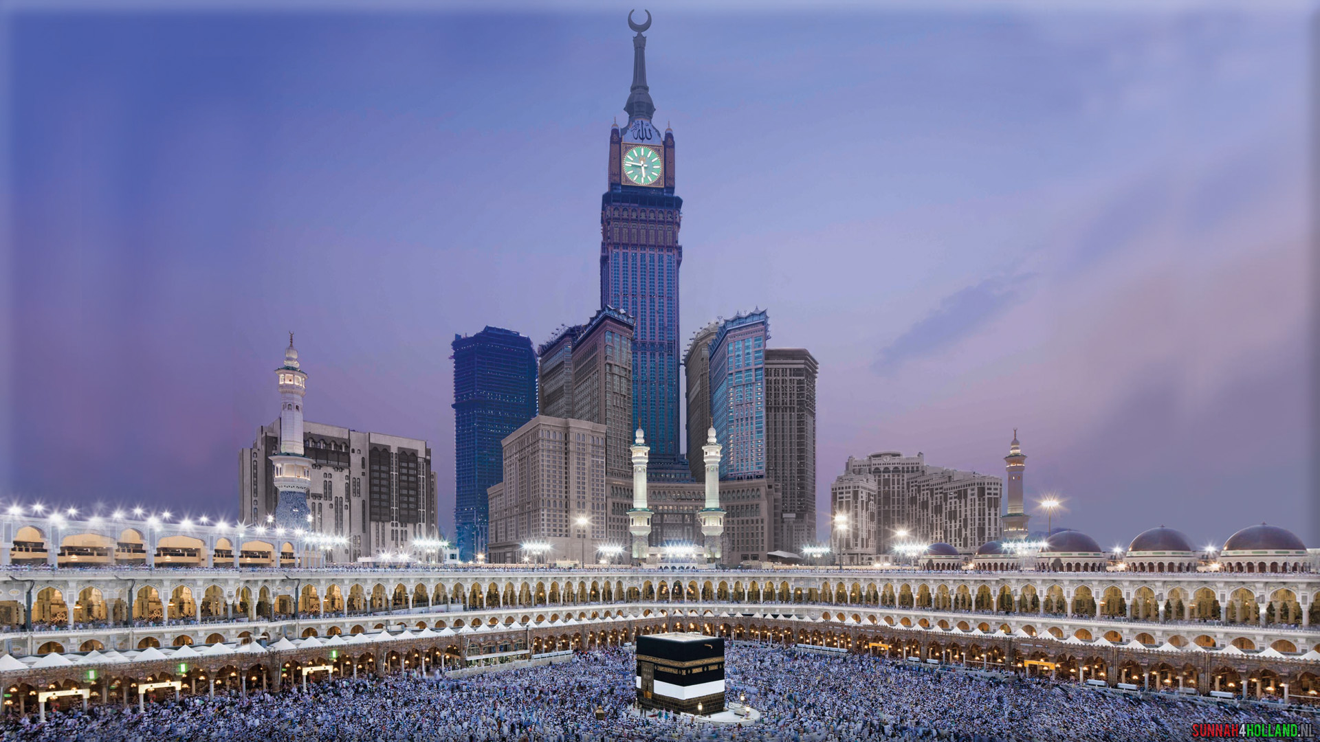 Makkah Wallpaper And Clock Tower Computer
