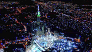 Night Beautiful Makkah Ka'bah Wallpaper Photos