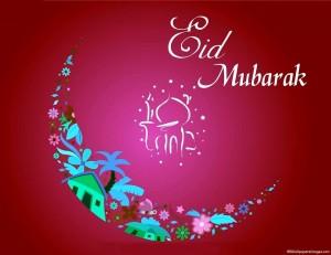 Eid Mubarak Wallpaper Design