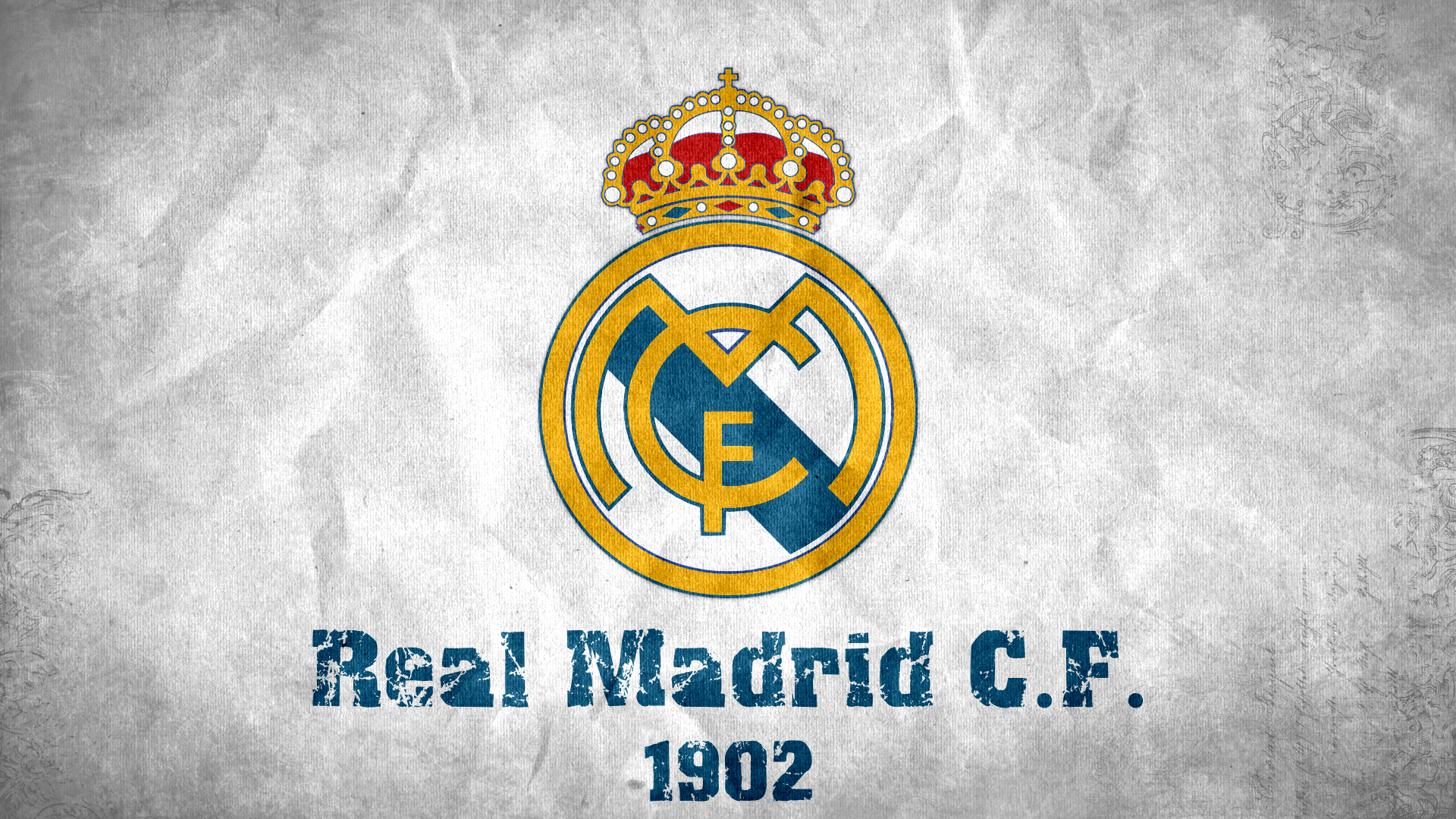 Logos Real Madrid Wallpape White