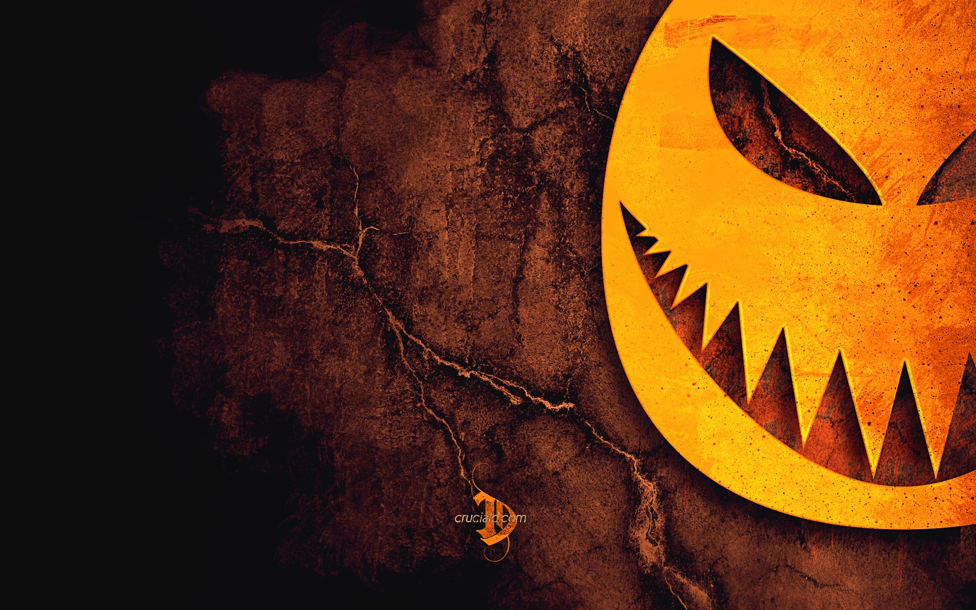 Pumpkin Art Halloween Wallpaper