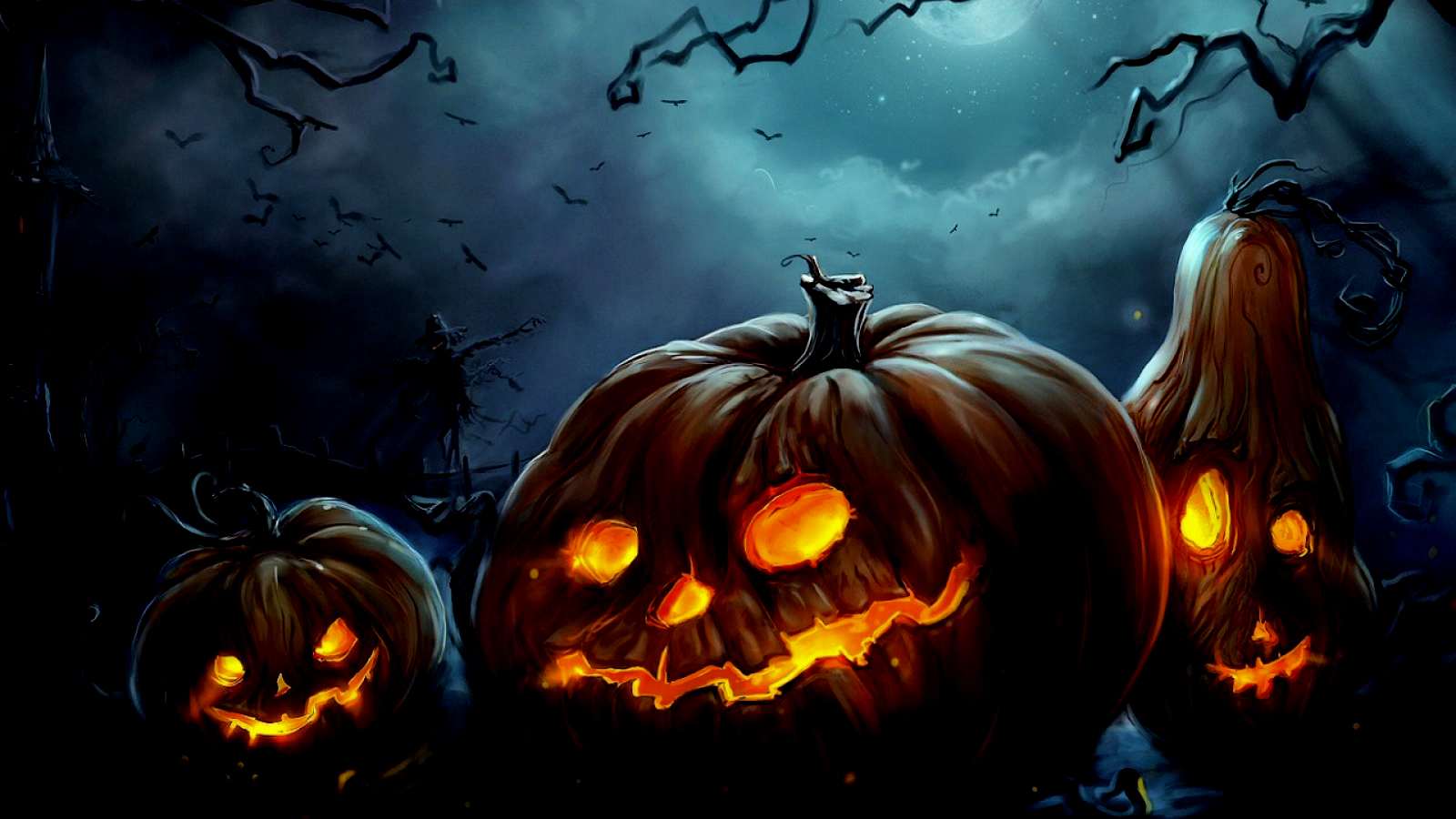 Pumpkin Halloween Wallpaper PC