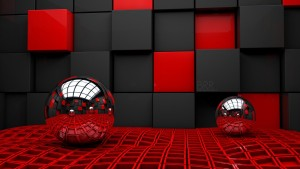 3D Red Wallpapers
