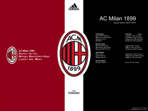 Ac Milan Description Wallpaper