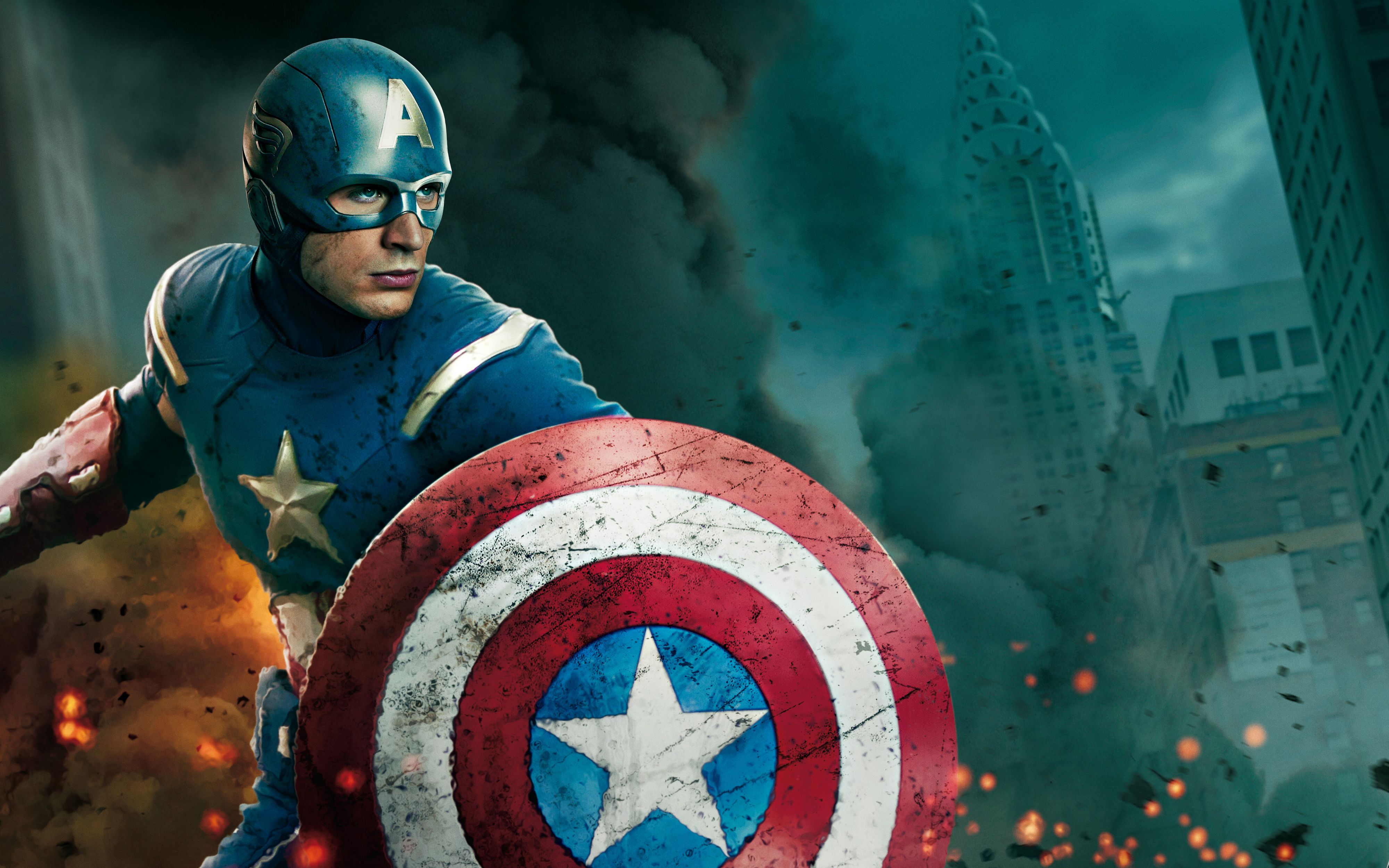 Action Movie Captain America Wallpaper