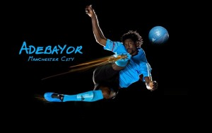 Adebayor Manchester City Image