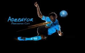 Adebayor Manchester City Image