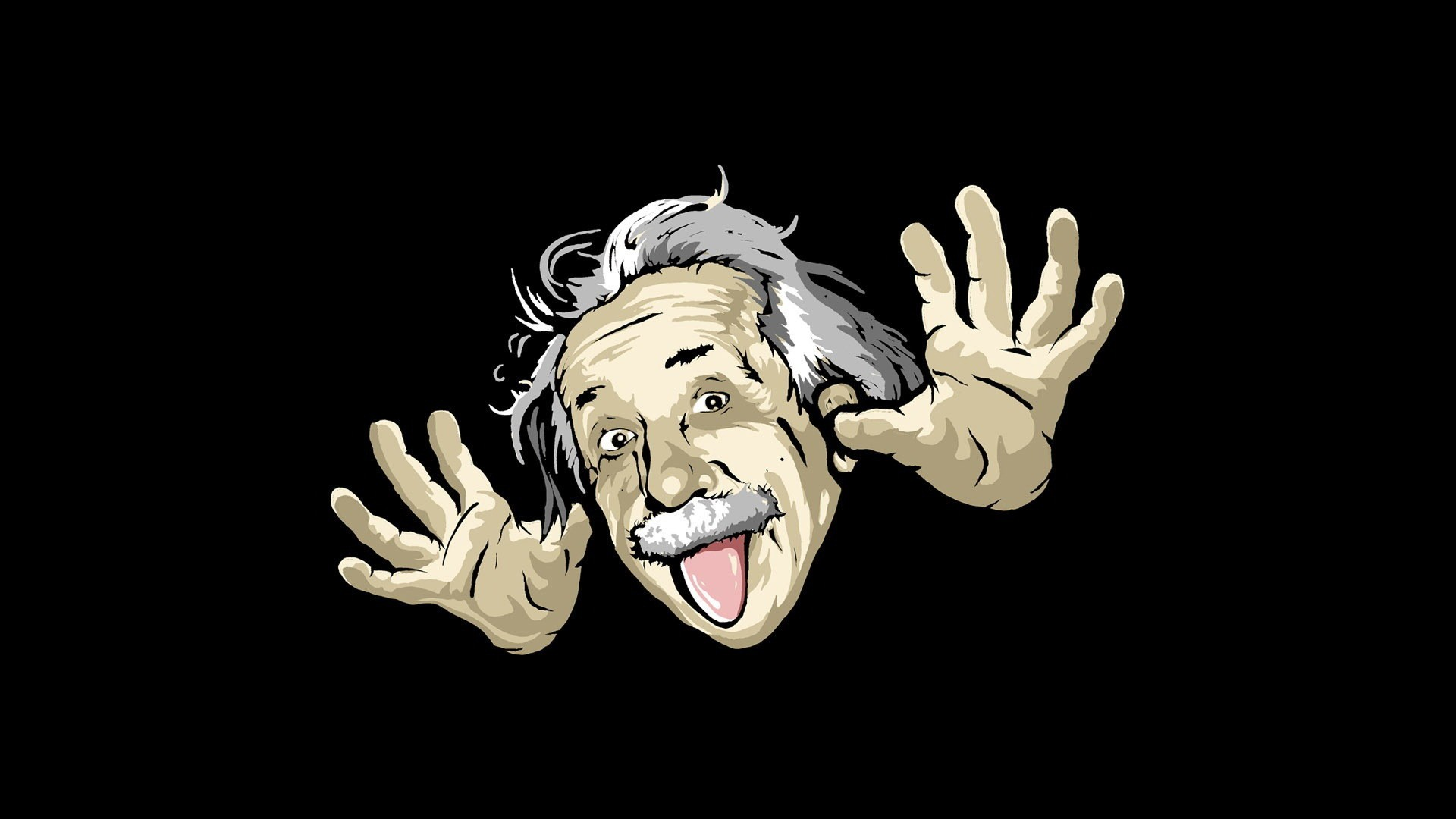 Albert Funny Wallpaper
