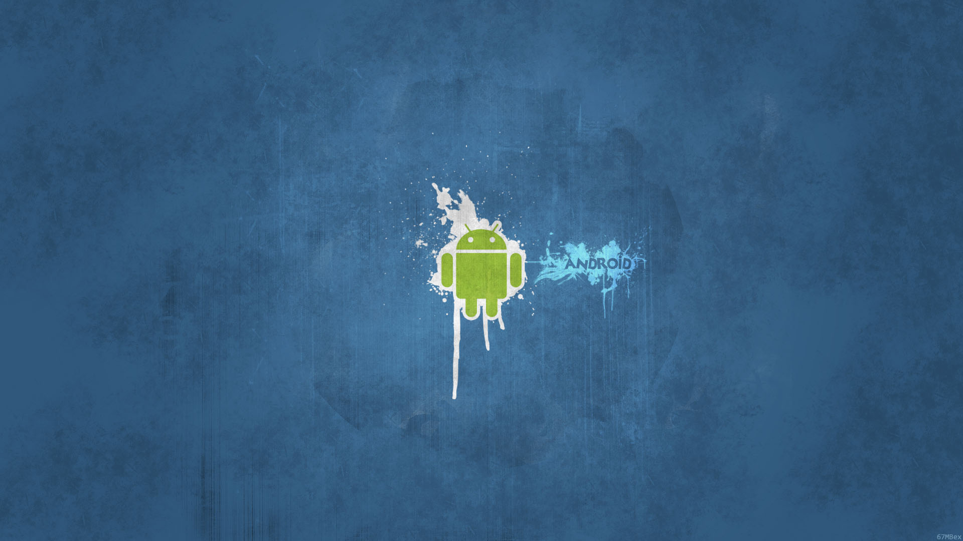Android Blue Wallpaper 1080p