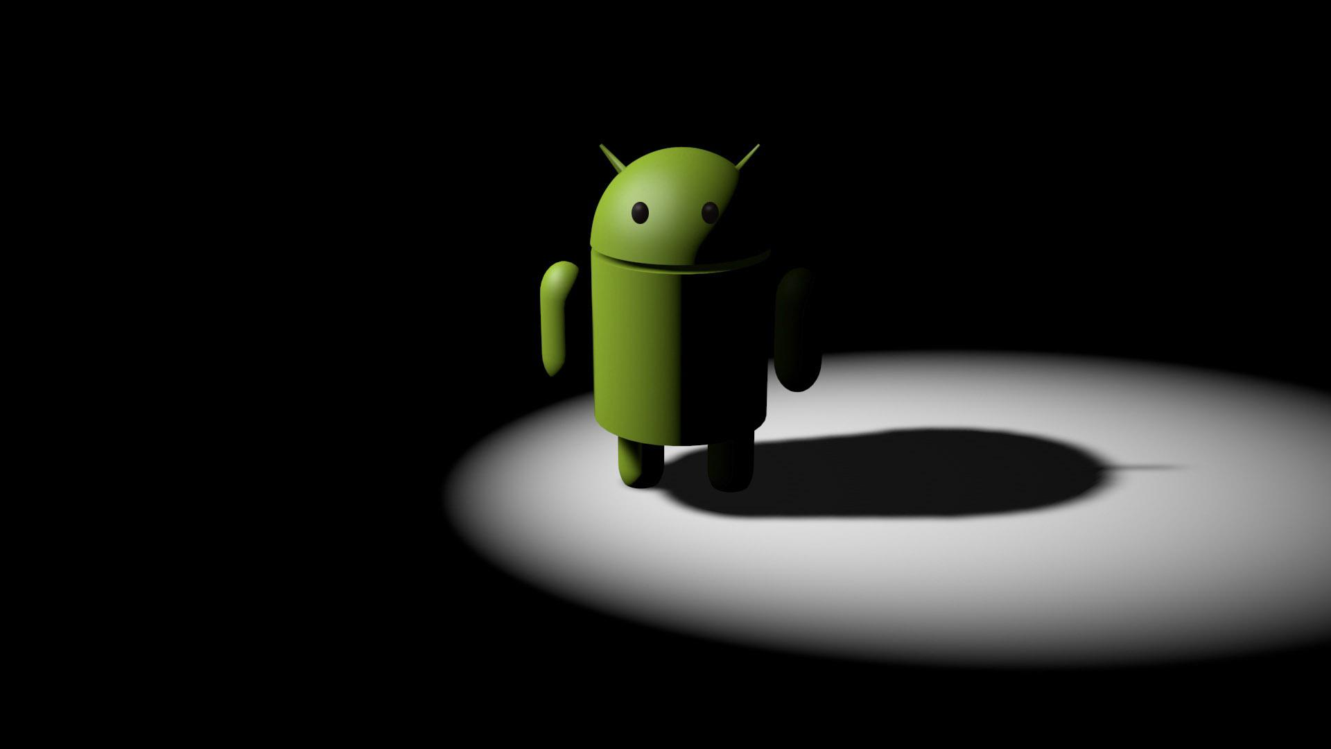 Android Phone Alone Hd Wallpaper