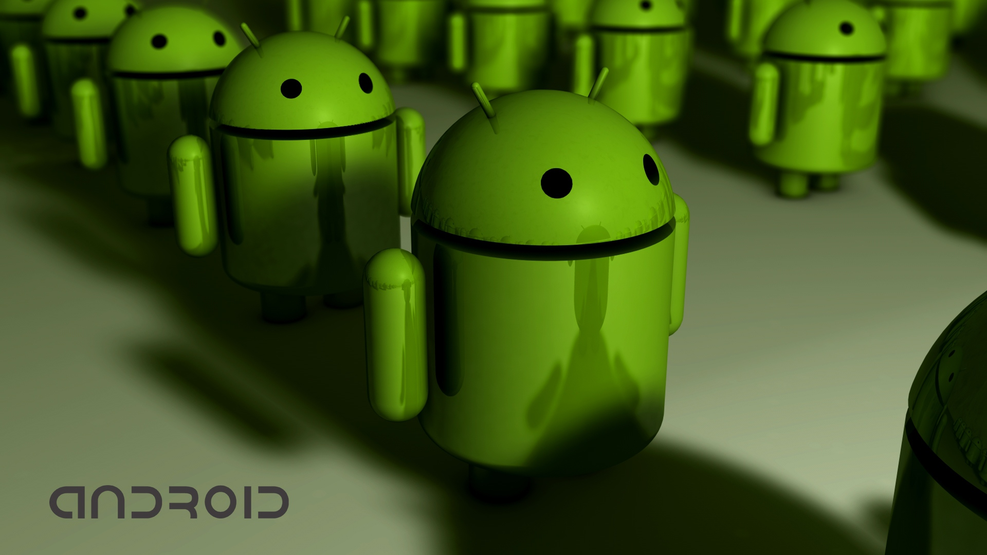 Android Row Hd Wallpaper