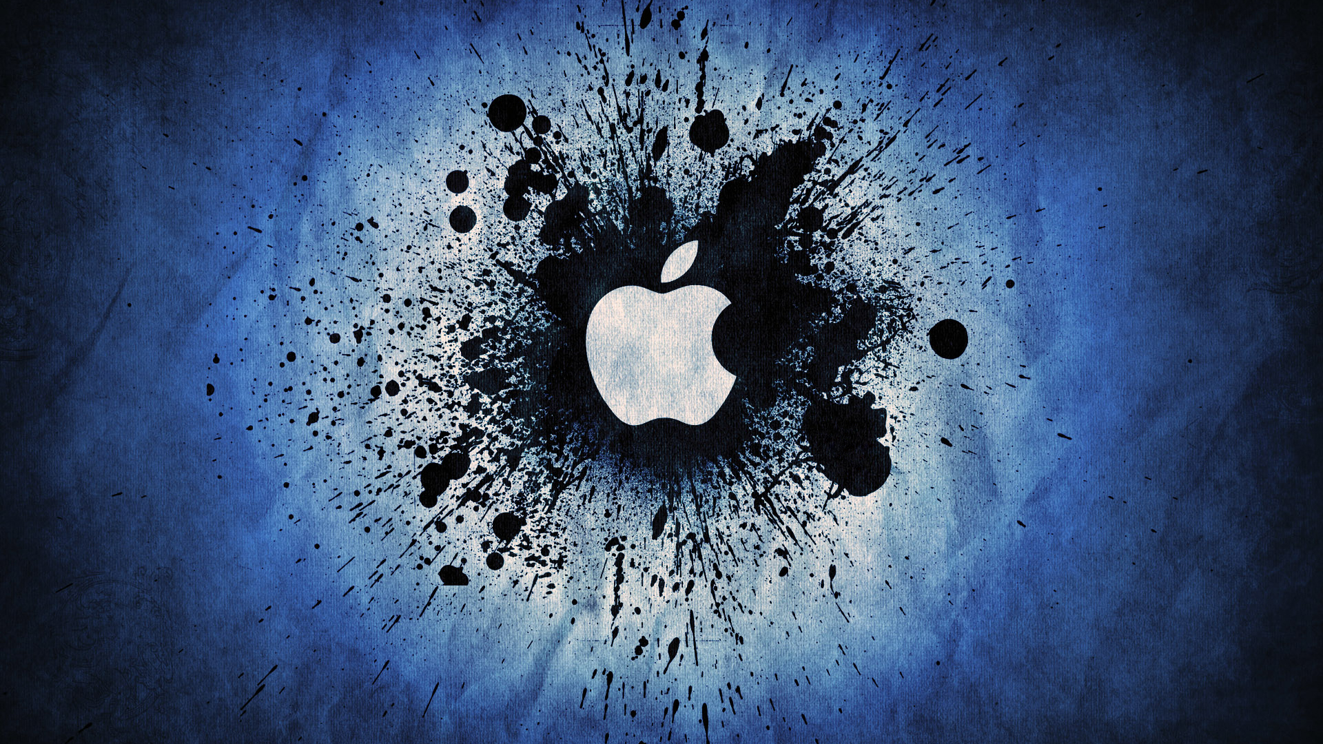 Apple Black Abstract Hd Desktop