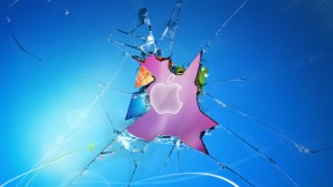 Apple Broken Windows Wallpapers