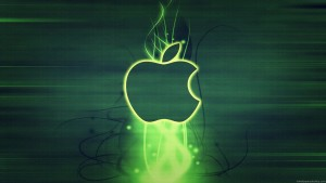 Apple Green Hd Background